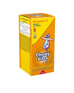VICAN Chewy Vites Jelly Bears Vitamin C 60 Μασώμενα Ζελεδάκια