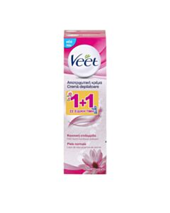 Veet Promo Silk & Fresh Normal Skin Αποτριχωτική Κρέμα 2x100ml