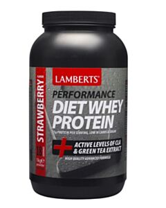 LAMBERTS DIET WHEY PROTEIN Strawberry 1000gr