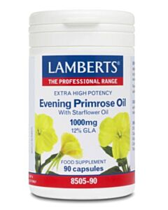 LAMBERTS EVENING PRIMROSE OIL & STARFLOWER OIL 1000MG 90CAPS (Ω6)
