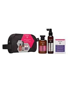 APIVITA Promo Rescue Hair Loss Kit Woman With Toning Shampoo For Woman 250ml + Anti-Hair Loss Lotion 150ml + Nutritional Supplement For Healthy Hair And Nails 30caps