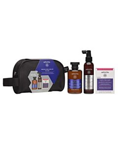 APIVITA Promo Rescue Hair Loss Kit Men With Toning Shampoo For Men 250ml + Anti-Hair Loss Lotion 150ml + Nutritional Supplement For Healthy Hair And Nails 30 caps