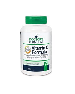 DOCTOR'S FORMULAS Vitamin C Formula Fast Action 30 Δισκία