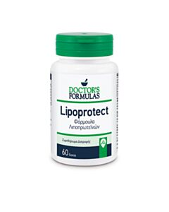 DOCTOR'S FORMULAS Lipoprotect Φόρμουλα Λιποπρωτεινών, 60 Δισκία