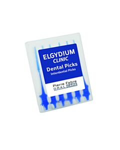 ELGYDIUM Clinic dental picks  6τμχ