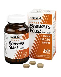 HEALTH AID BREWERS YEAST Μαγιά 240tabs