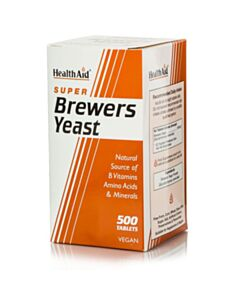 HEALTH AID BREWERS YEAST Μαγιά 500tabs