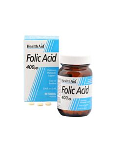 HEALTH AID FOLIC ACID  90tabs