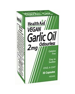 HEALTH AID GARLIC OIL έλαιο σκόρδου  30caps