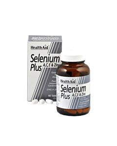 HEALTH AID SELENIUM plus Α,C,Ε 60tabs