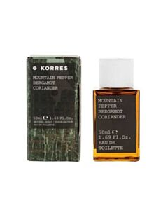 KORRES Ανδρικό Άρωμα Mountain Pepper Bergamot Coriander 50ml