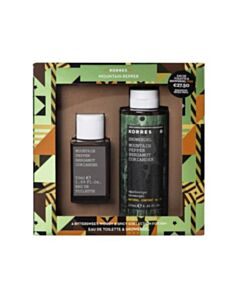 KORRES Promo Mountain Pepper/Bergamot/Coriander Eau De Toilette 50ml & Showergel 250ml