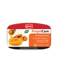 LANES propolcare pastilles honey lemon 54gr