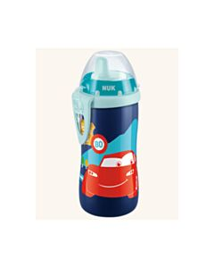 NUK Kiddy cup Disney Cars with clip 300ml 12m+