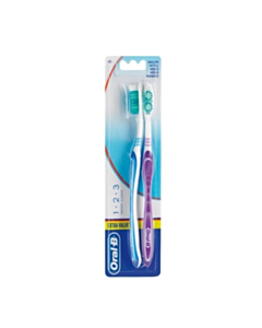 ORAL B 123 SHINY CLEAN 40 ΜΕΤΡΙΑ  1X2