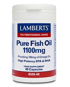 LAMBERTS OMEGA PURE FISH OIL 1100MG (EPA) 60CAPS (Ω3)