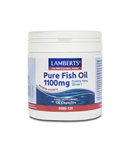 LAMBERTS OMEGA PURE FISH OIL 1100MG (EPA) 120CAPS (Ω3)