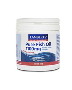 LAMBERTS OMEGA PURE FISH OIL 1100MG (EPA) 180CAPS (Ω3)