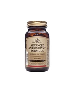 SOLGAR ADVANCED antioxidant formula 60caps v