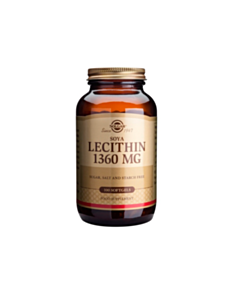 SOLGAR LECITHIN 1360mg 100softgels