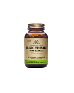 SOLGAR MILK THISTLE HERB & SEED EXTRACT 60caps v