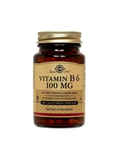 SOLGAR VITAMIN B-6 100mg 100caps