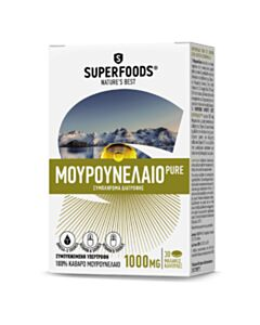 SUPERFOODS Pure Μουρουνέλαιο 1000mg 30 Softgels