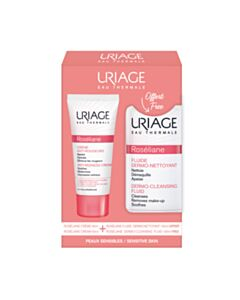 URIAGE Promo Roseliane Creme Anti Rougeurs 40ml & ΔΩΡΟ Roseliane Fulide Dermo-Nettoyant 100ml