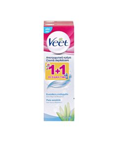 VEET Promo Silk & Fresh Sensitive Skin Αποτριχωτική Κρέμα 2x100ml