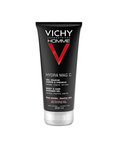 VICHY Homme Hydra Mag-C Shower Gel 200ml